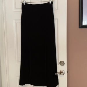 BCBGMAXAZRIA Evening Skirt with high slits/pockets